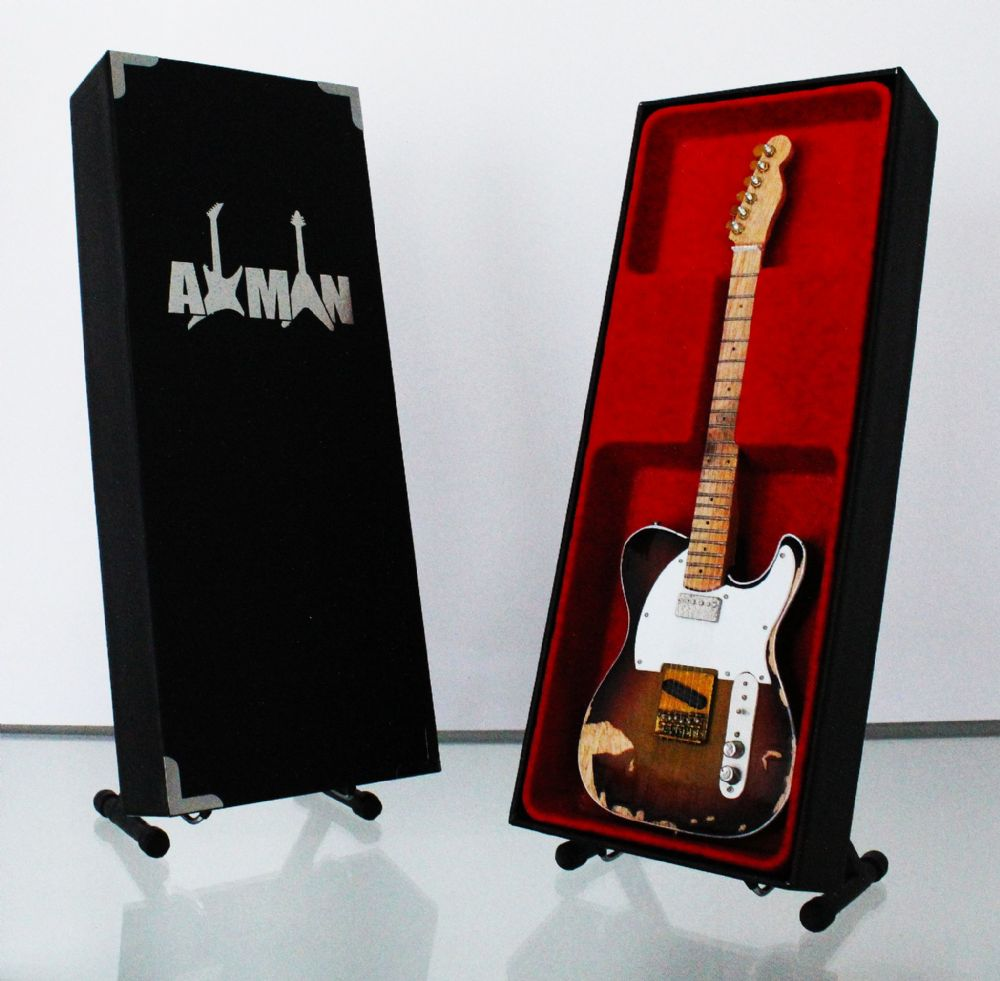 (The Police) Andy Summers - Telecaster: Miniature Guitar Replica (UK Seller)